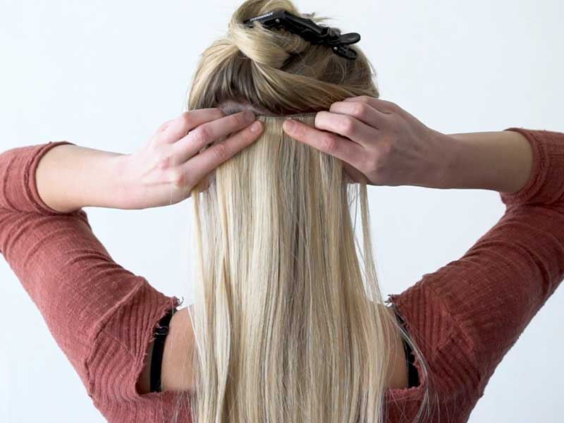 How To Clip In Hair Extensions? It's Easy If You Do it Smart
