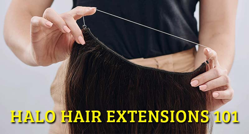 Halo Hair Extensions - Invisible, Lightweight, And Easy To Use