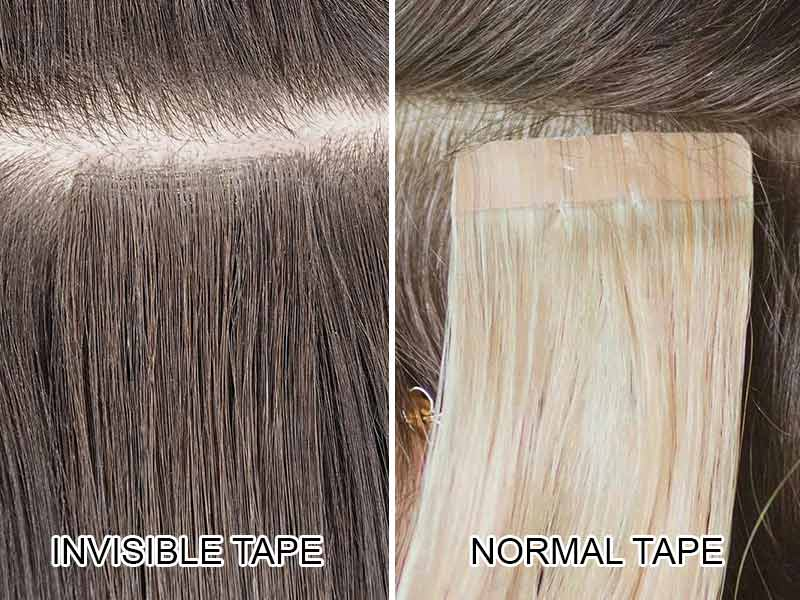 Why Invisible Tape? This Newly-Born Tape-In Rocks The Hair World