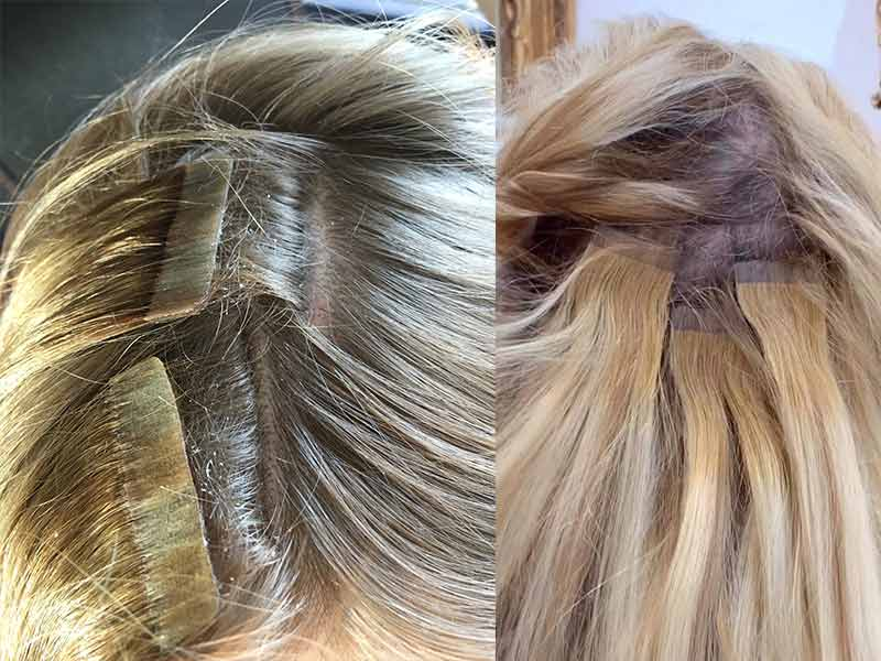 Tape-In Hair Extensions Damage - Not Just A Worry