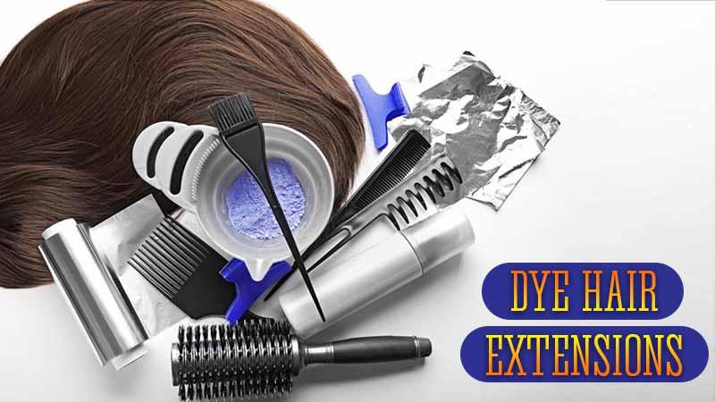 Dye Hair Extensions Tutorial - DOs & DON'Ts | Lewigs
