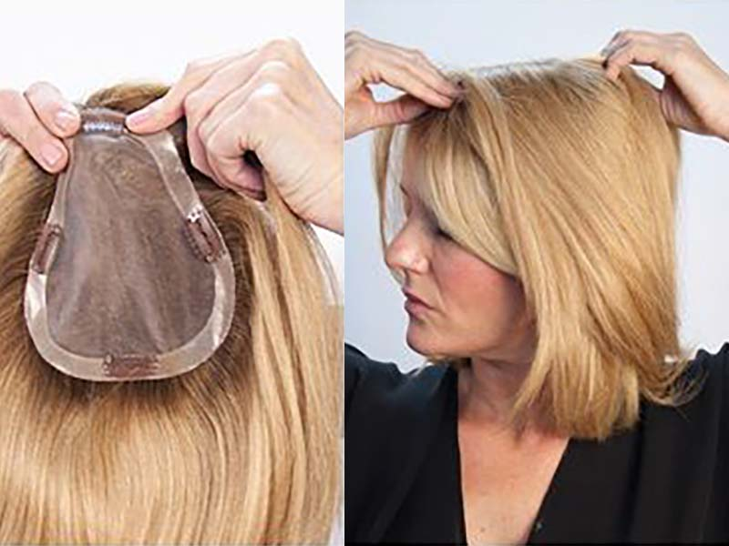 Wiglets For Crown Area - It's A Total Confidence Boost!