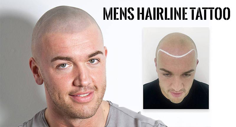 Hairline Tattoo - Is It A Viable Option For Thinning Hair Men?